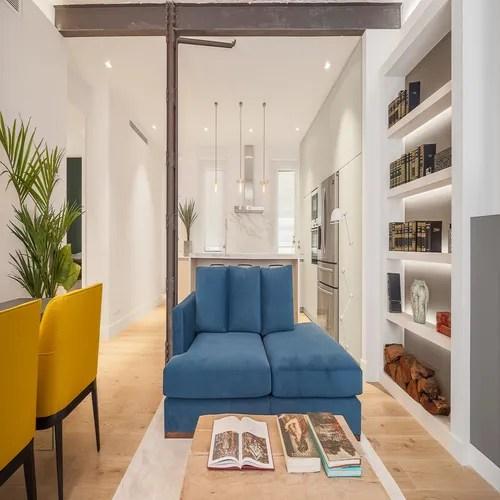 منزل مساحته 130م بتصاميم مبتكرة وألوان زاهية