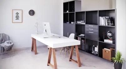 Home Office - SALAArchitects Estudios y despachos de estilo moderno de SALA VISCOM Moderno Madera Acabado en madera