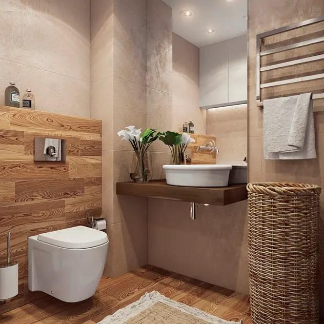 minimalistic Bathroom by Angelina Alekseeva