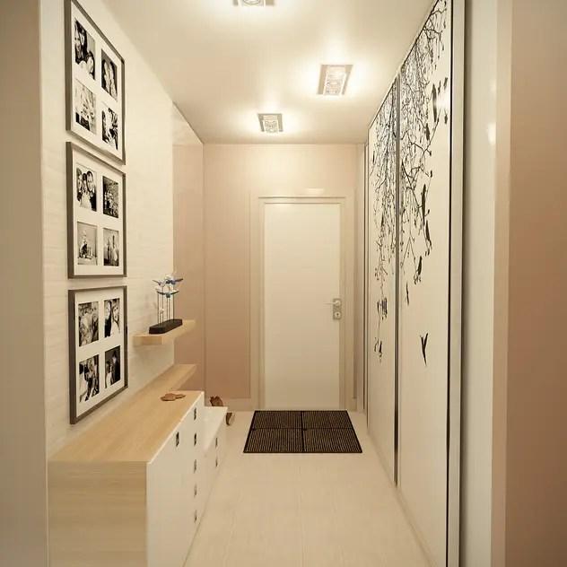 Casa com toque moderno - corredor apartamento