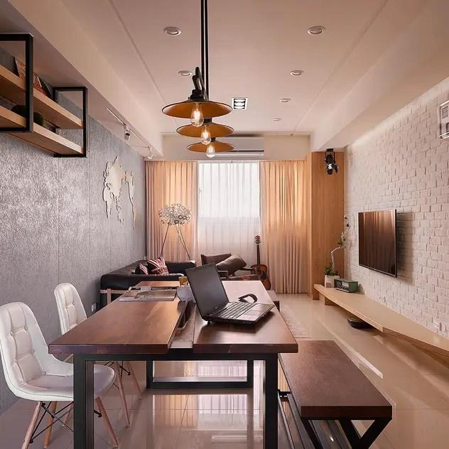 industrial Living room by 趙玲室內設計