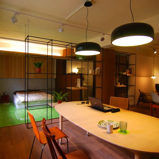 asian Study/office by EO design studio