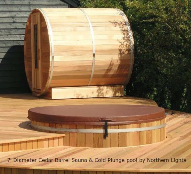 Northern lights Hot Tubs and Saunas by Cedar Hot Tubs UK   homify