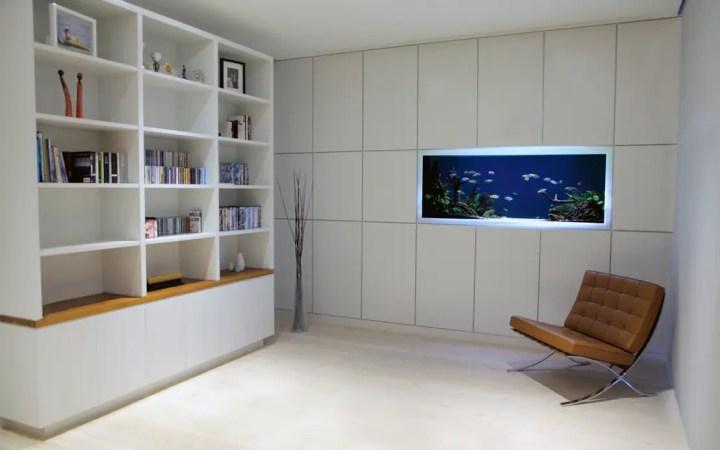 wohnideen minimalistisch kesselflicker, aquarium minimalistisch | frameswall.co, Design ideen