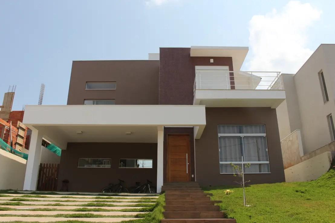 Casas De E Lindas Moderna Fachadas