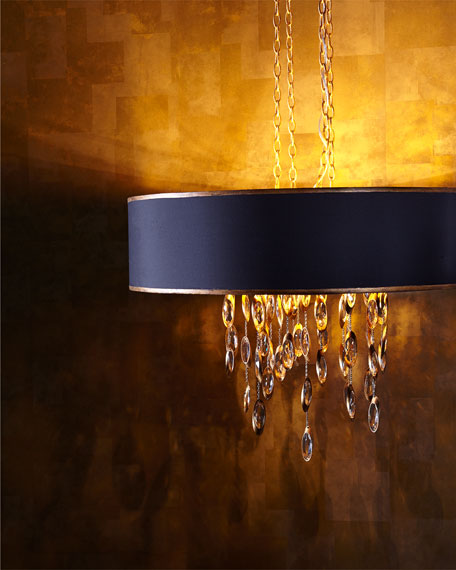 Black Tie 11 Light Chandelier