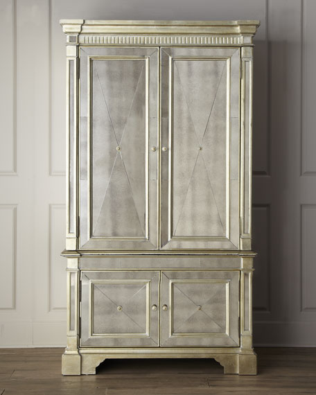 Tv Armoire Doors And Drawers