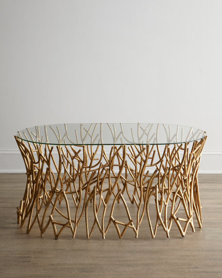 Quot Golden Branches Quot Coffee Table