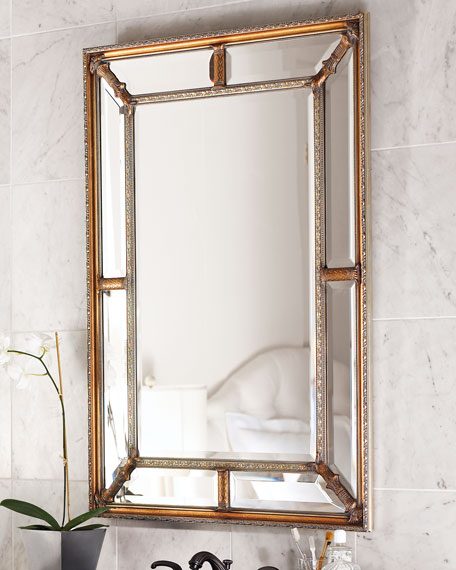 Beaded Wall Mirror 26