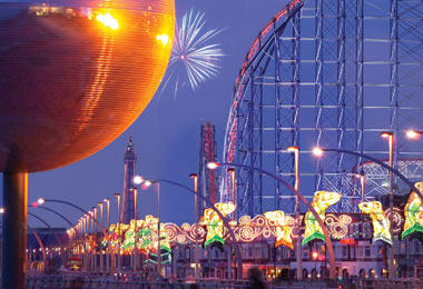 Blackpool Illuminations, England