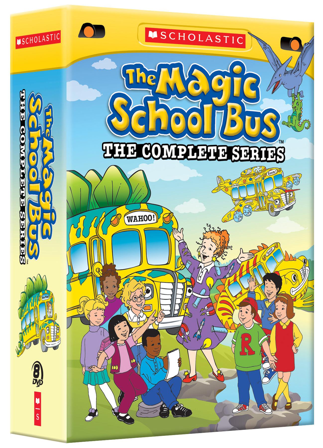 The Magic School Bus Complete Series 1 4 Dvd Boxset