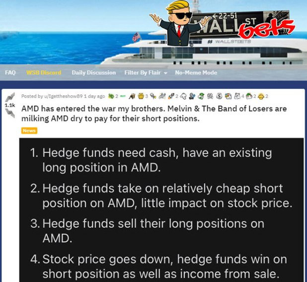 AMD discusses Wallstreetbets reddit