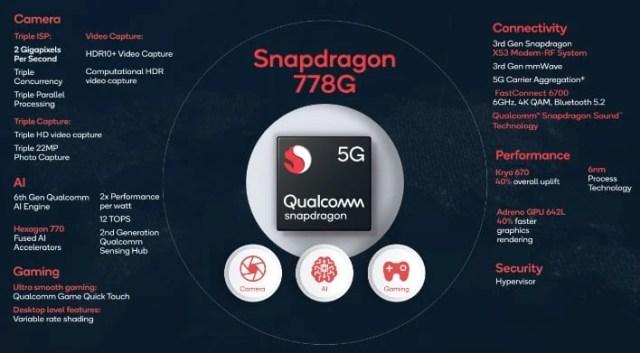 Qualcomm's Snapdragon 778G 5G SoC Packs Potent Performance Punch For  Mid-Range Phones | HotHardware