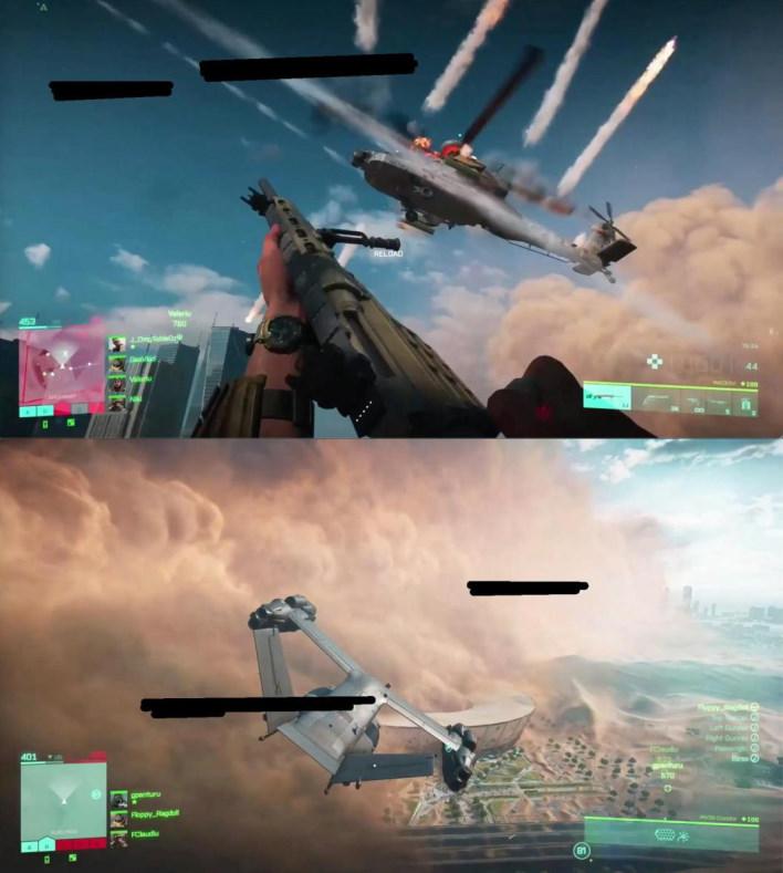 El equipo del campo de batalla de vehículos aéreos 6 envía avances a los creadores de contenido