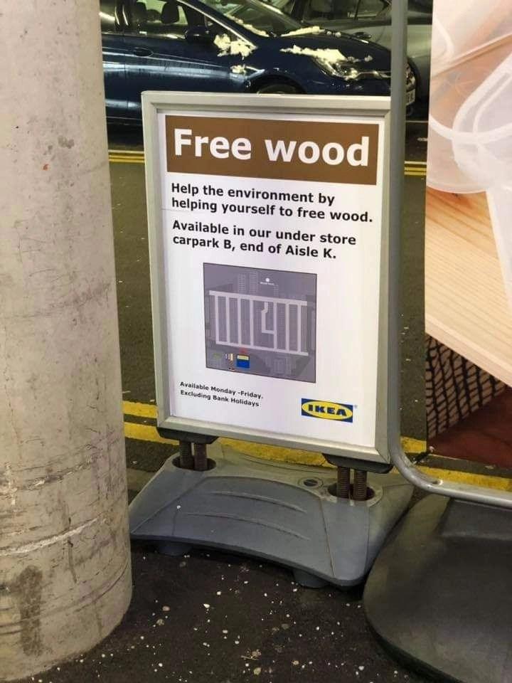 Ikea Free Wood Hotukdeals