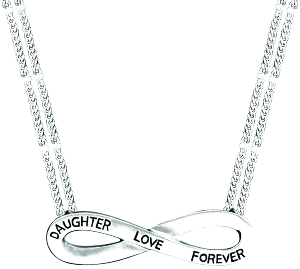 Forever Yours Inscribed Infinity Pendant Daughter