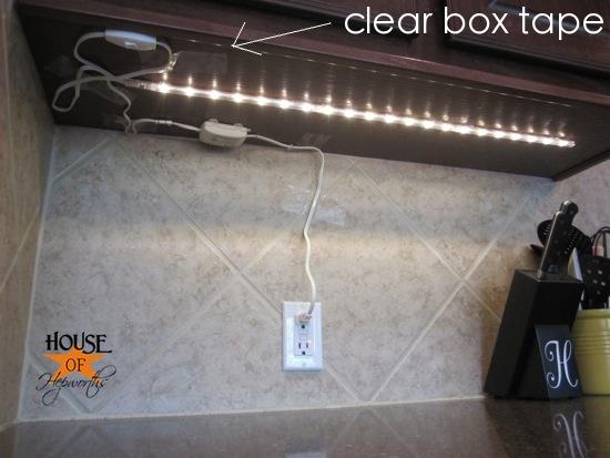 under cabinet lighting debacle