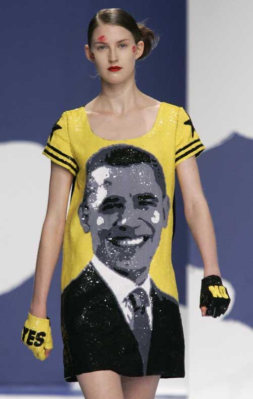 Obama Mini Dress
