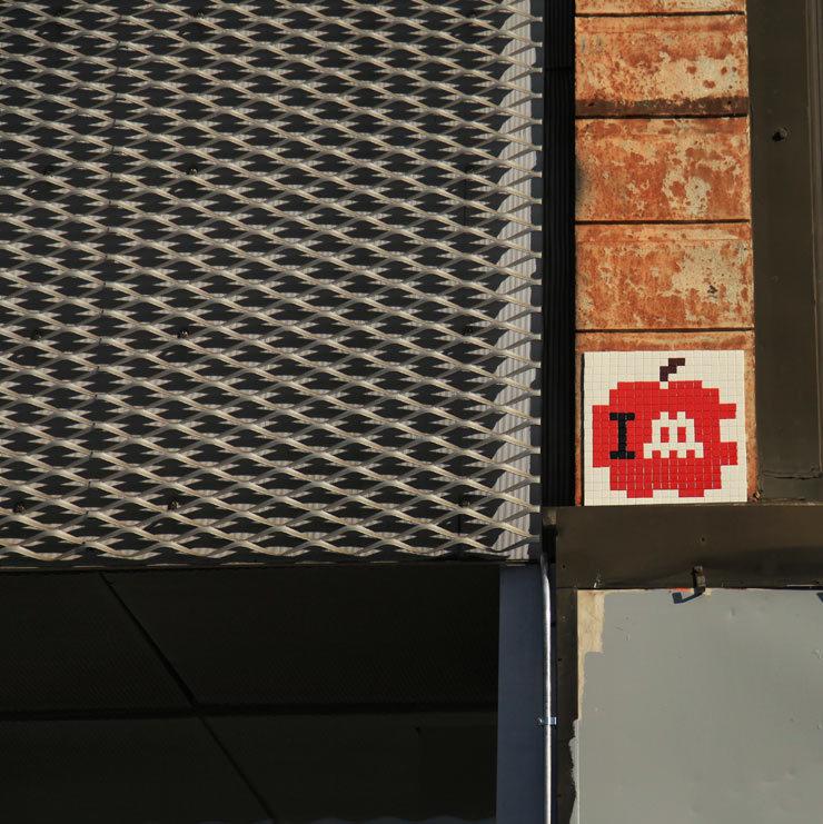 Street Art Tile Invasion Of New York Cut Short HuffPost