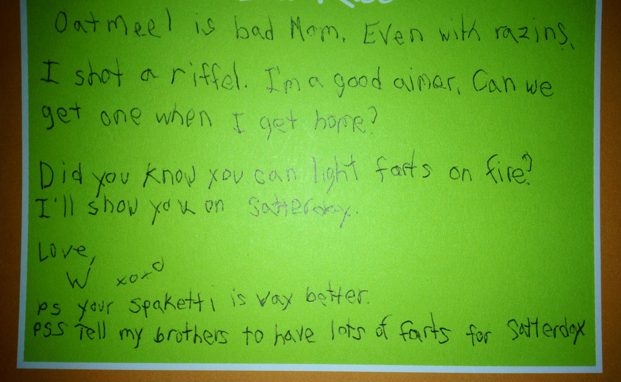 My Son S Letter From Camp Was Not What I Expected