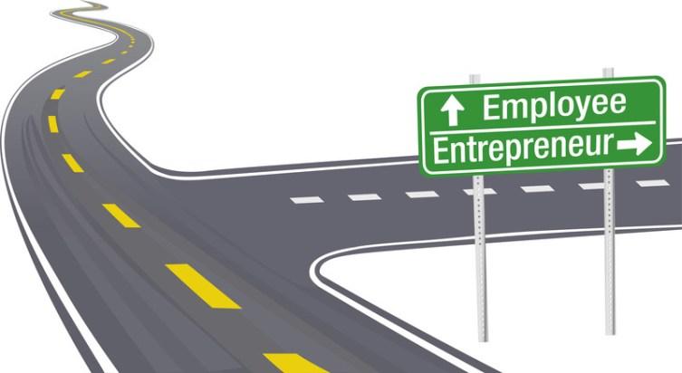 نتيجة بحث الصور عن move from employee to entrepreneur