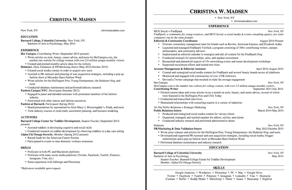 17 ways to make your resume fit on one page the huffington post