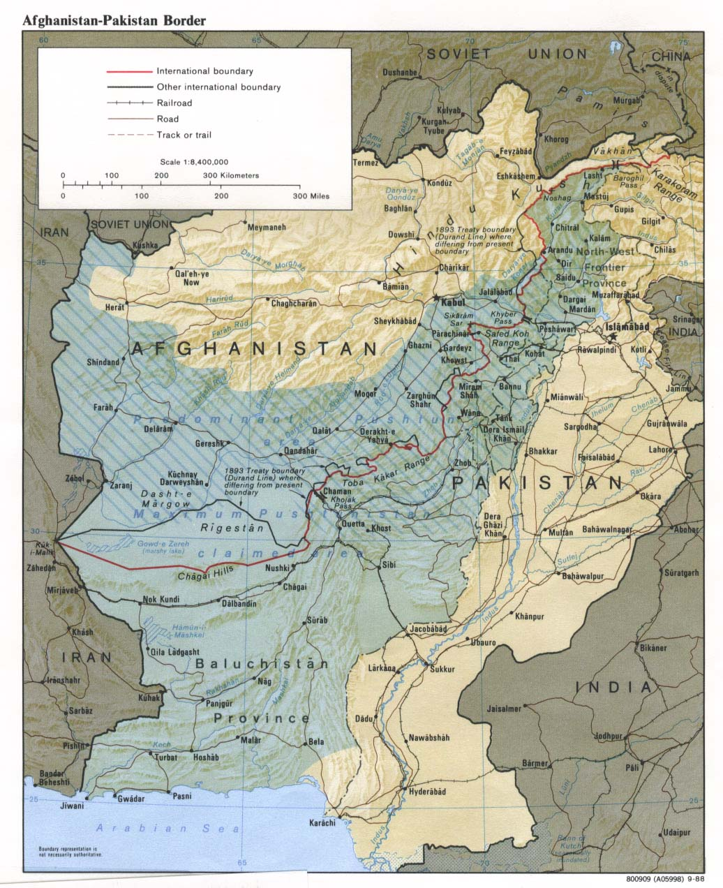 Afghanistan Durand Line