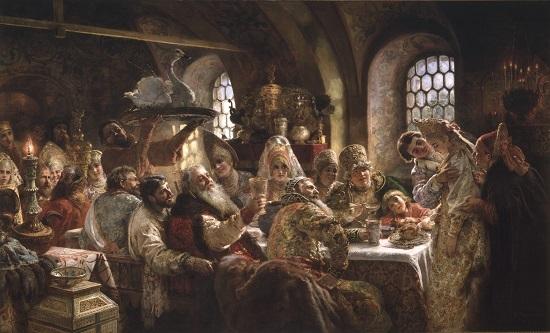 Konstantin Makovsky The Tsars Painter HuffPost