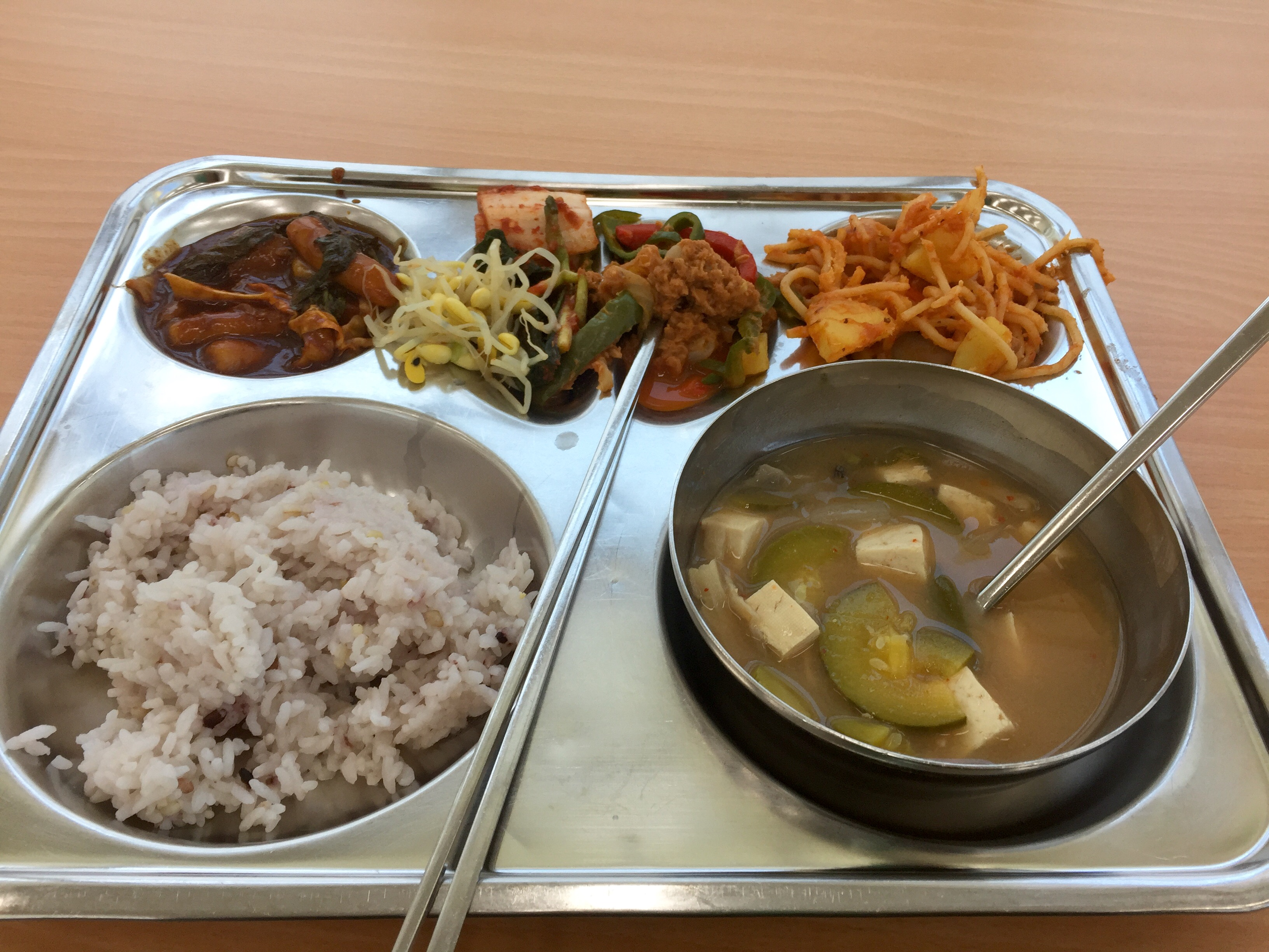 School Lunches In South Korea