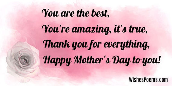 Happy Mothers Day Poems HuffPost