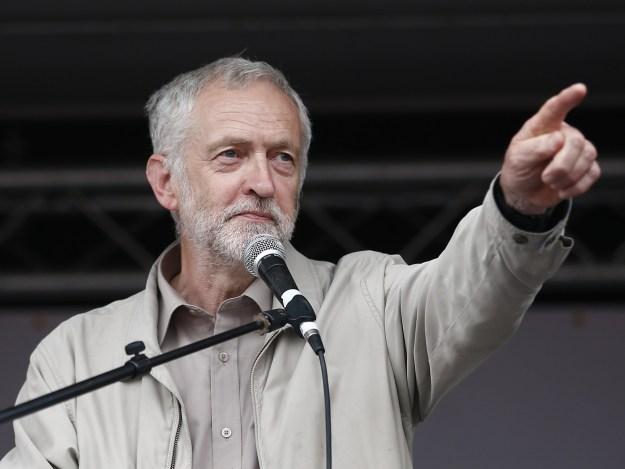Jeremy Bernard Corbyn is a British politician