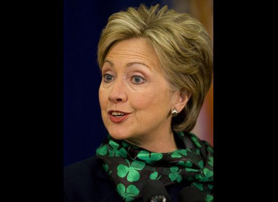 Hillary Gone Green