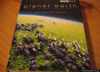 Picture of the DVD set, Planet Earth