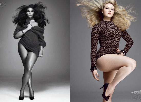 models with fantastic thighs
