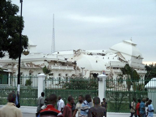 Haiti's Presidential Palace