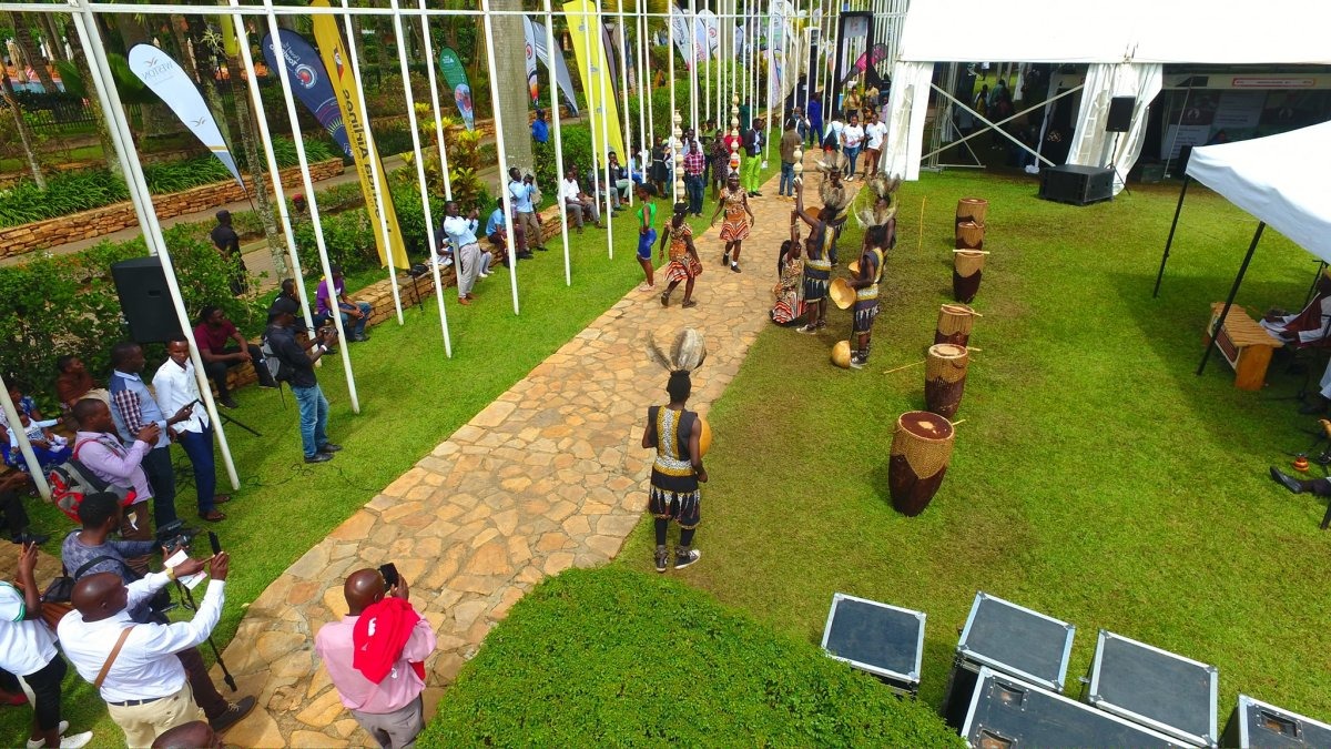 Sights from the final day of the Pearl of Africa Tourism Expo