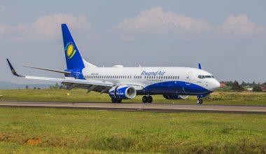 RwandaAir Plane