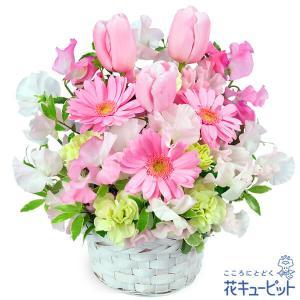 春のピンクアレンジメント