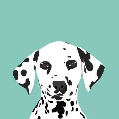 Dalmatian Canvas Artwork By Pet Friendly ICanvas