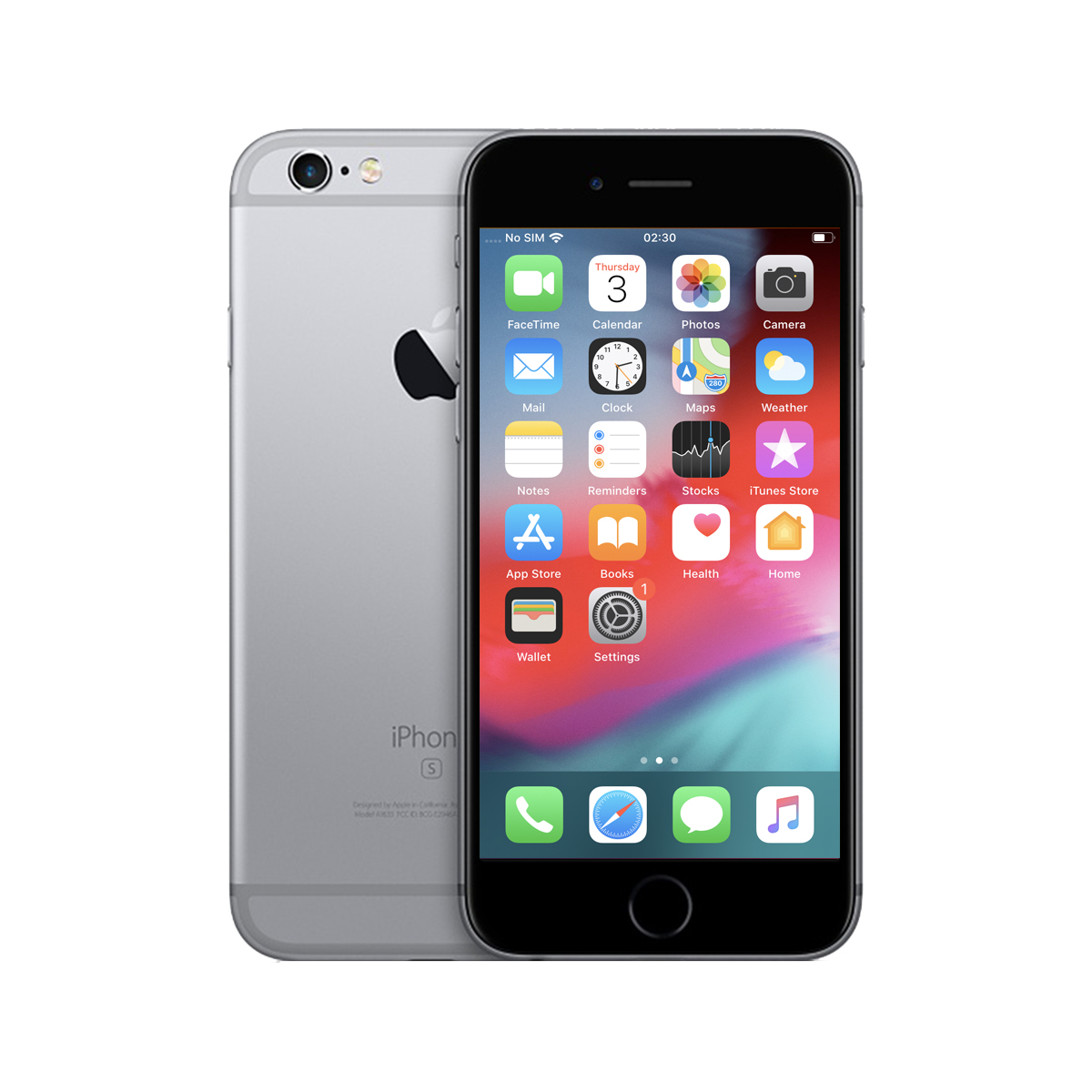 product datasheet renewd apple iphone 6s 11 9 cm 4 7 single sim ios 10 4g 16 gb grey refurbished smartphones rnd p62116