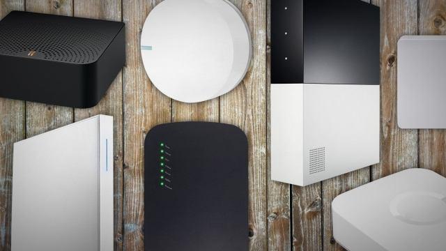 smart home hub lead art
