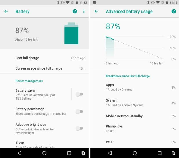 android o battery