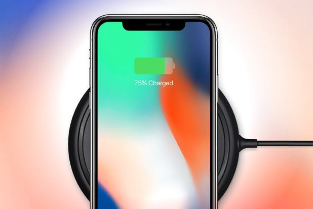 Apple iPhone X - wireless charging
