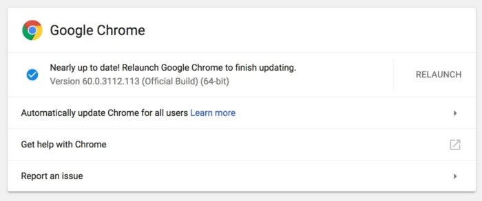 Google Chrome 61 v2