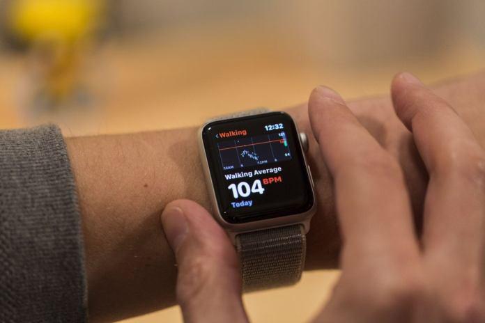 apple watch series 3 heart rate