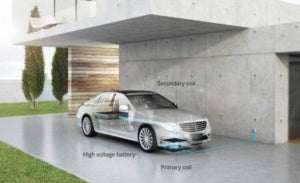 WiTricity Daimler wireless charging