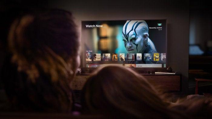 Apple TV et visionneuse de télévision