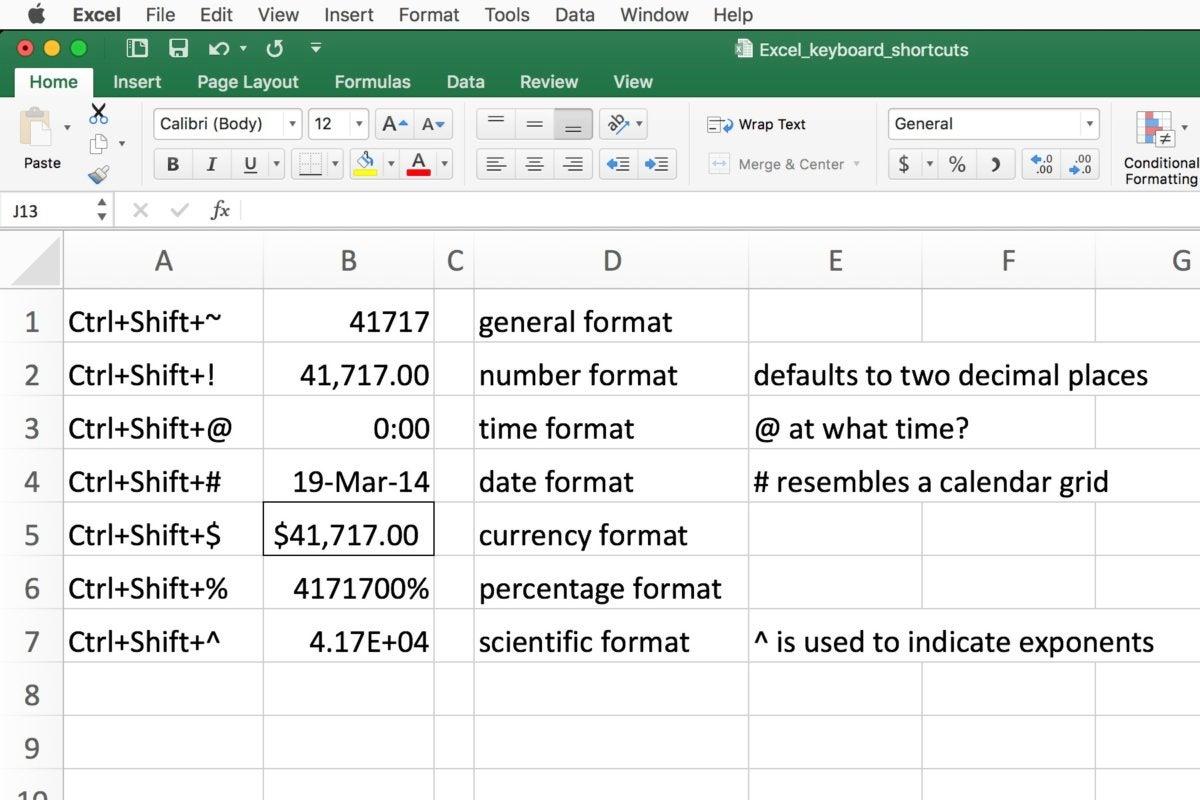 10 Incredibly Useful Excel Keyboard Shortcuts