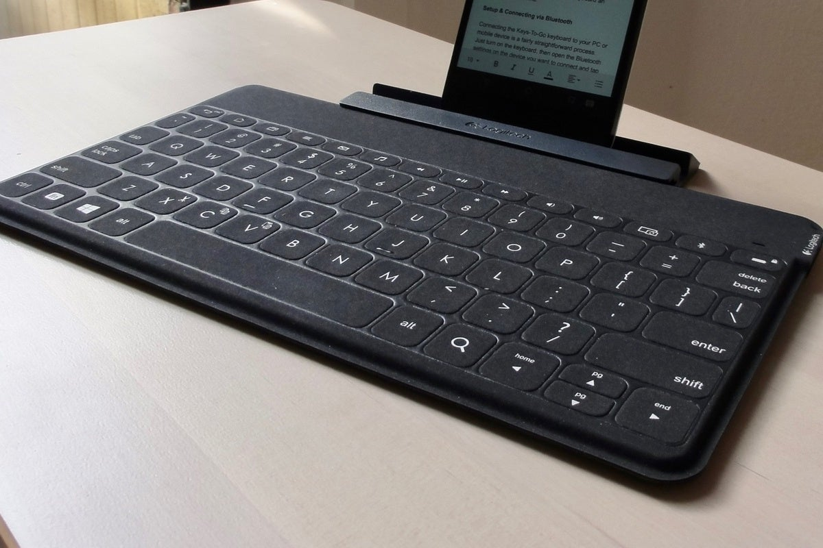 Logitech Keys To Go Review A Super Slim Keyboard That Ll