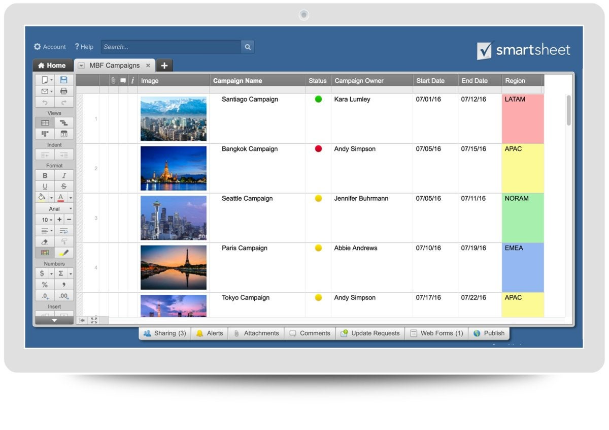 What Is Smartsheet A Spreadsheet Based Project Management